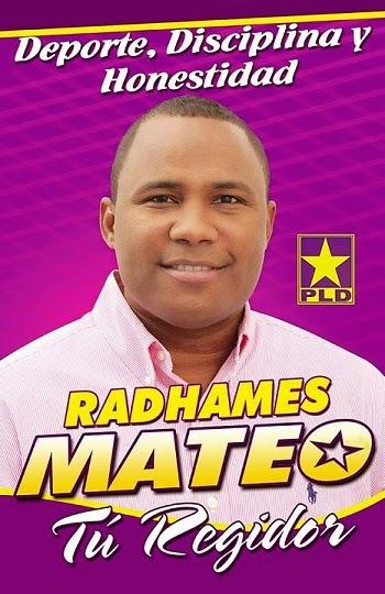 RADHAMES MATEO...REGIDOR...