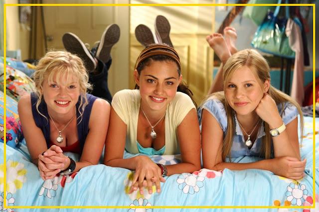 Protagonistas da Primeira e Segunda Temporada: Cariba (Drica), Phoebe (Cléo) e Nanda (Claire)