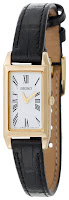 Seiko Women's SUJF80 Dress Baguette Gold