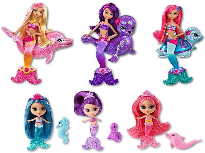 Barbie barbie en una aventura de sirenas 2 mini mu ecas y - Barbi sirene 2 film ...