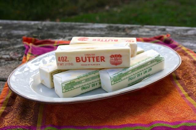 sticks of butter: Simple Living and Eating