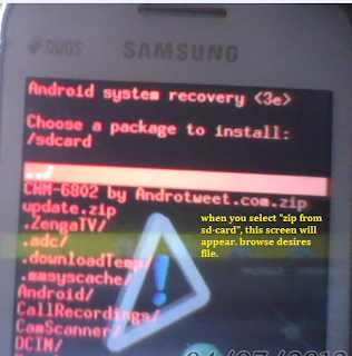 Root And CWM Recovery For Ace 5830i [How To Guide] - AndroTweet