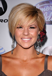 Short hairstyle Inspiration From Celebrity Kimberly Caldwell