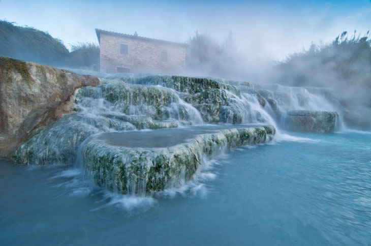 27. Saturnia Hot Springs - 29 Amazing Places in Italy
