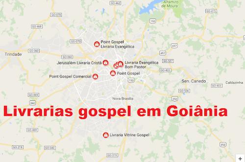 Livraria Gospel Goiania - Todos os Endereços
