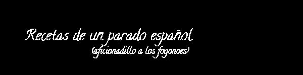 Recetas de un parado español