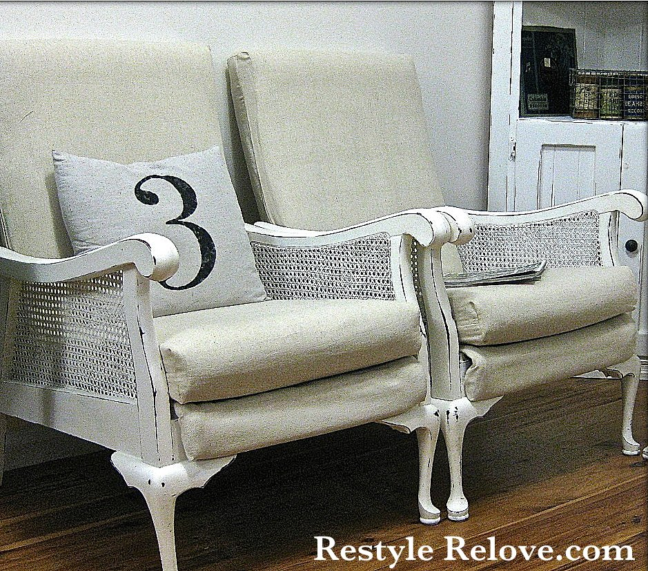 French inspired vintage lounge suite makeover for Vintage parisian lounge