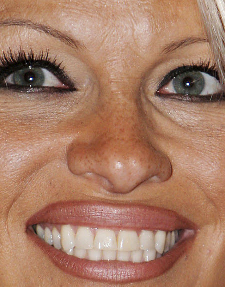 Pamela Anderson Close Up