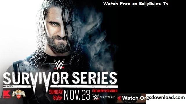 Watch WWE Survivor Series 2014 - 11/23/2014 - 23rd November 2014 - Full Replay - HDTV - Watch Online/ Download