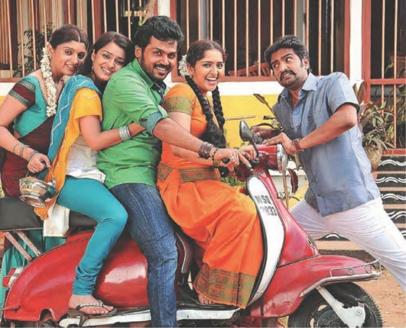 Alex Pandian Movie Stills