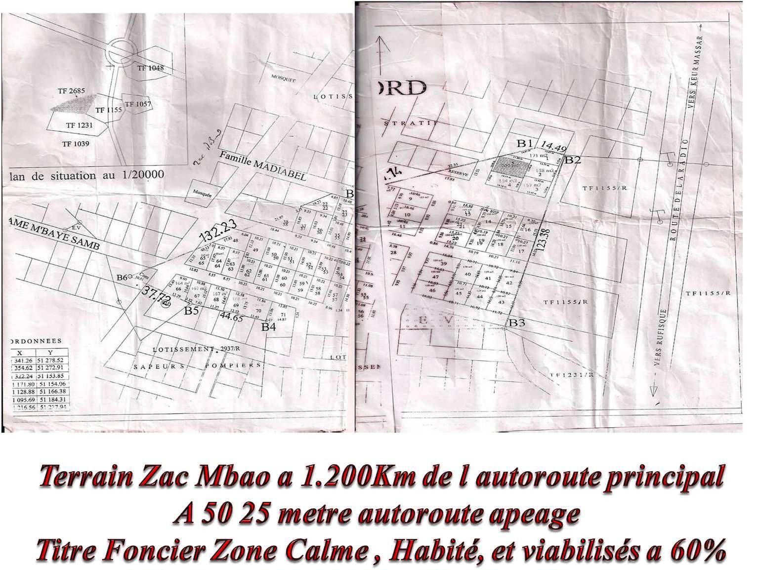 Terrains Zac Mbao