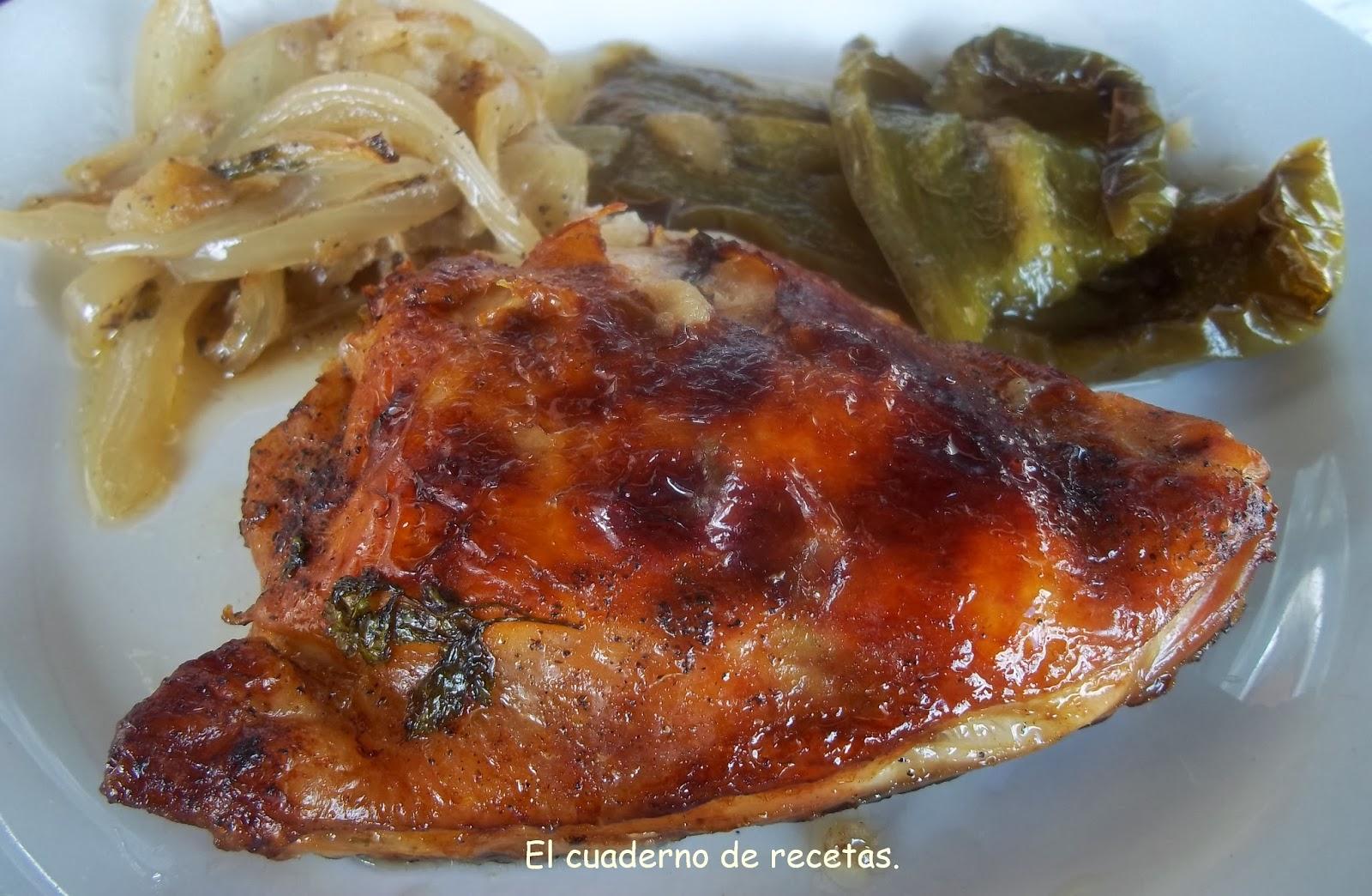 Pollo Al Horno {con Manzanas Y Verduras}