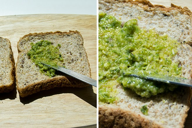 Kitchen Play - Pesto Sandwhich