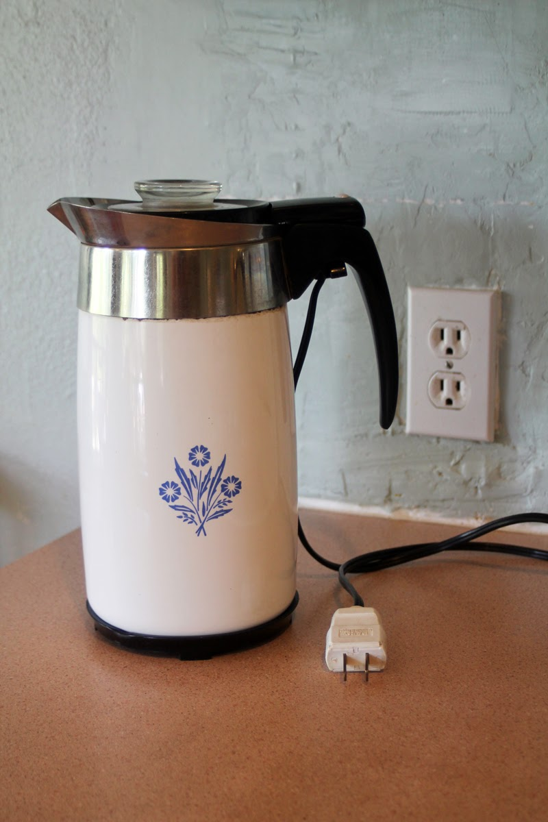 Making Shift: Old School Joe: Percolator Coffee