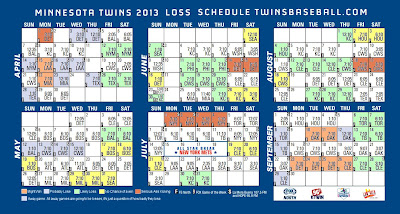 Minnesota Twins Schedule
