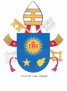 Santa Sé apresenta brasão do novo Papa