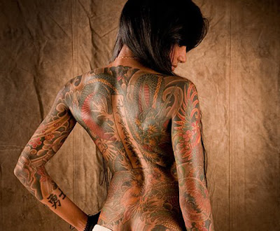 Full body tribal tattoos designs for hot and sexy girls.