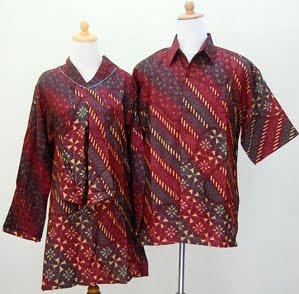 Model Baju Batik Modern Terbaru 2012 Contoh Busana Untu