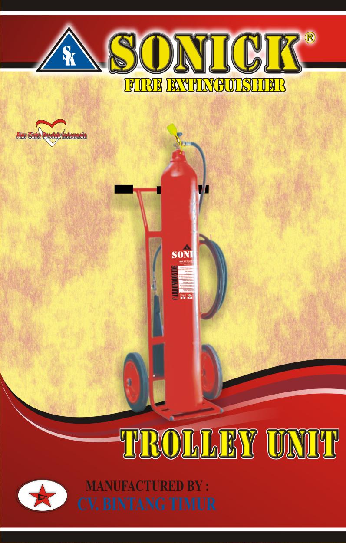 Tabung pemadam api murah co2 25 kg