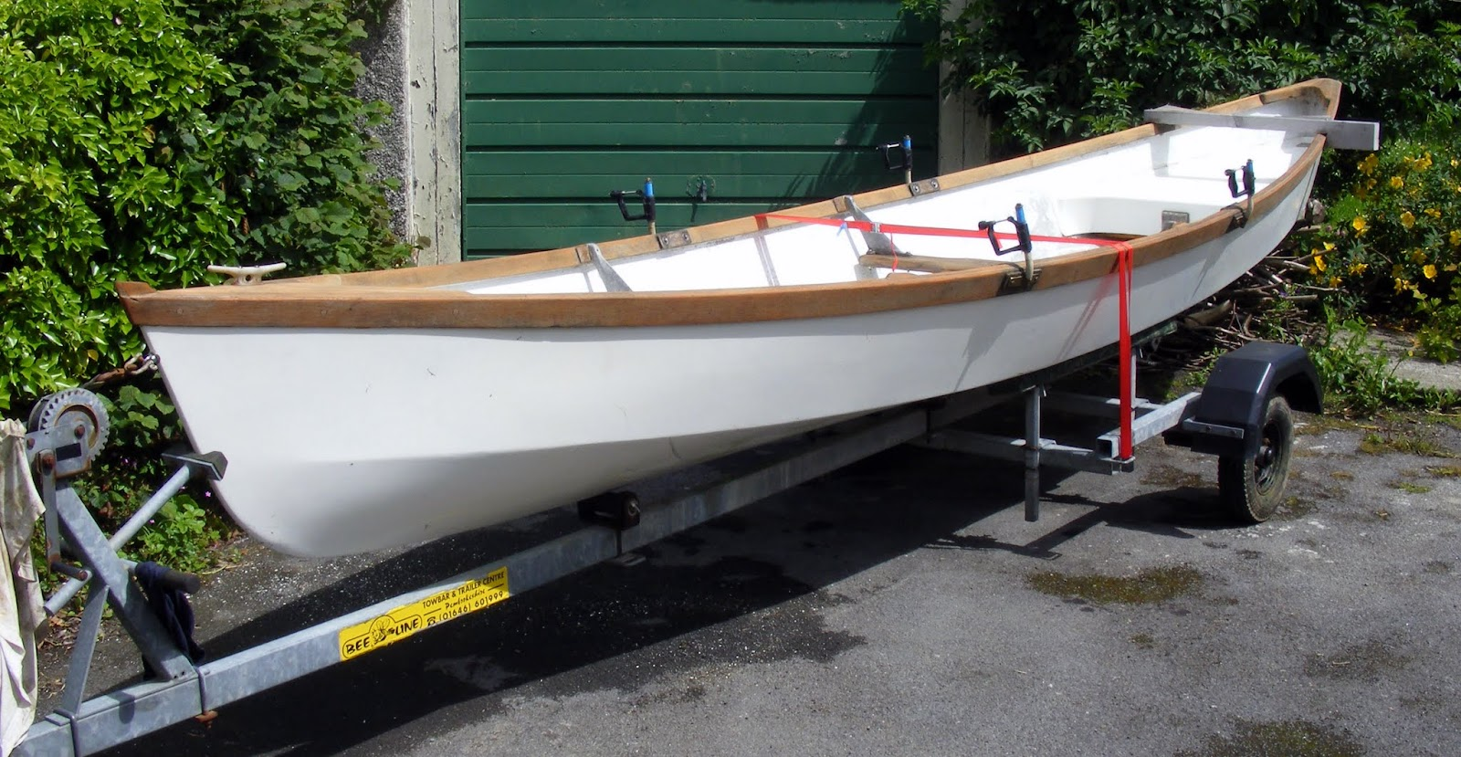 ROWING FOR PLEASURE: Teifi Skiff for sale