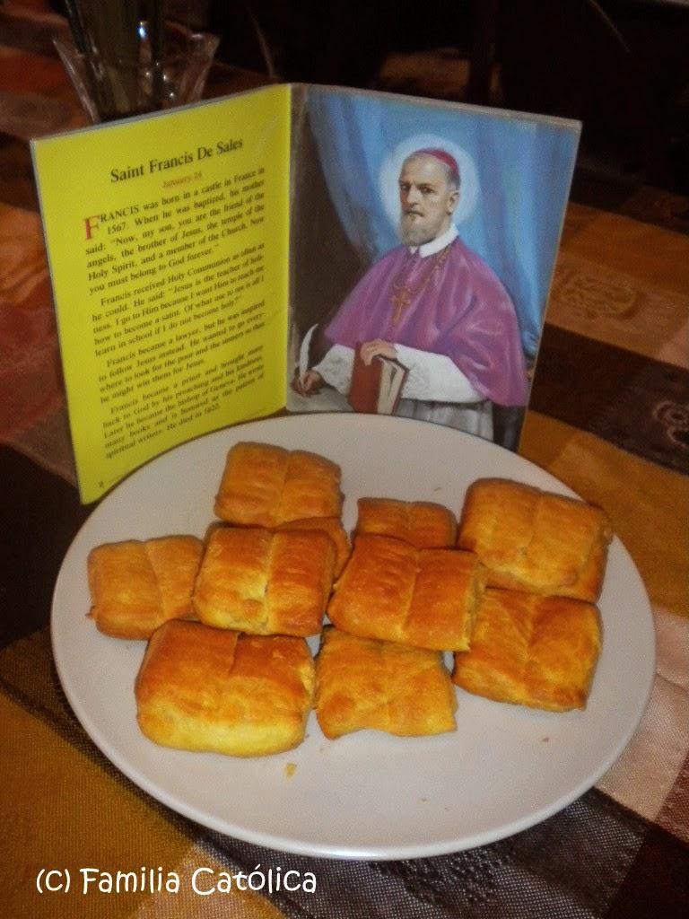Familia Católica: Libritos con masa de Croissant para la fiesta de ...