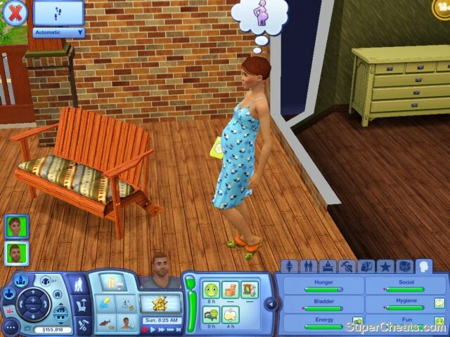 The Sims 3 Cheats for PC, Android, Cell, PS3, WinPhone, NDS, Mac, Xbox 360, iPhone, Wii and 3DS img4