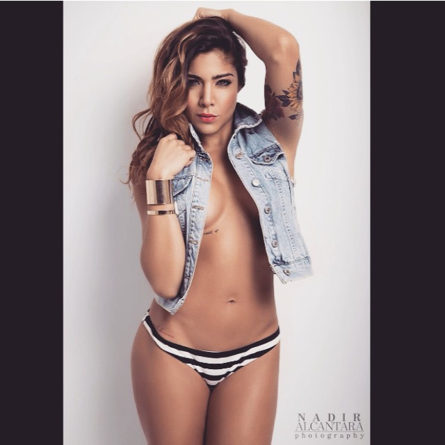 Erika Fernandez mirada sexy