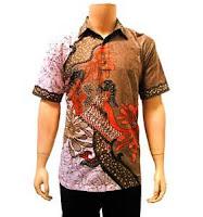Model Baju Batik Pria modren