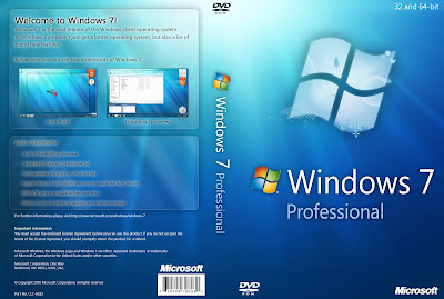 Windows 7 Professional 32-Bit And 64-Bit (ISO) 2.33GB