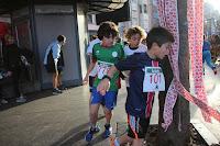 Más de 400 niños desbordan la San Silvestre infantil de Barakaldo