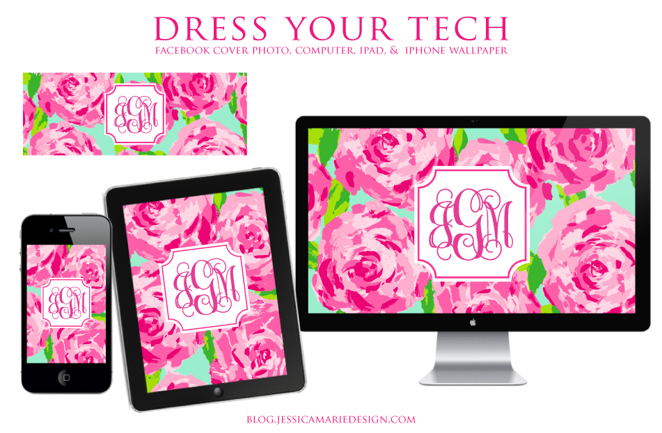 ... Marie Design Blog: Lilly Pulitzer First Impression + Dress Your Tech