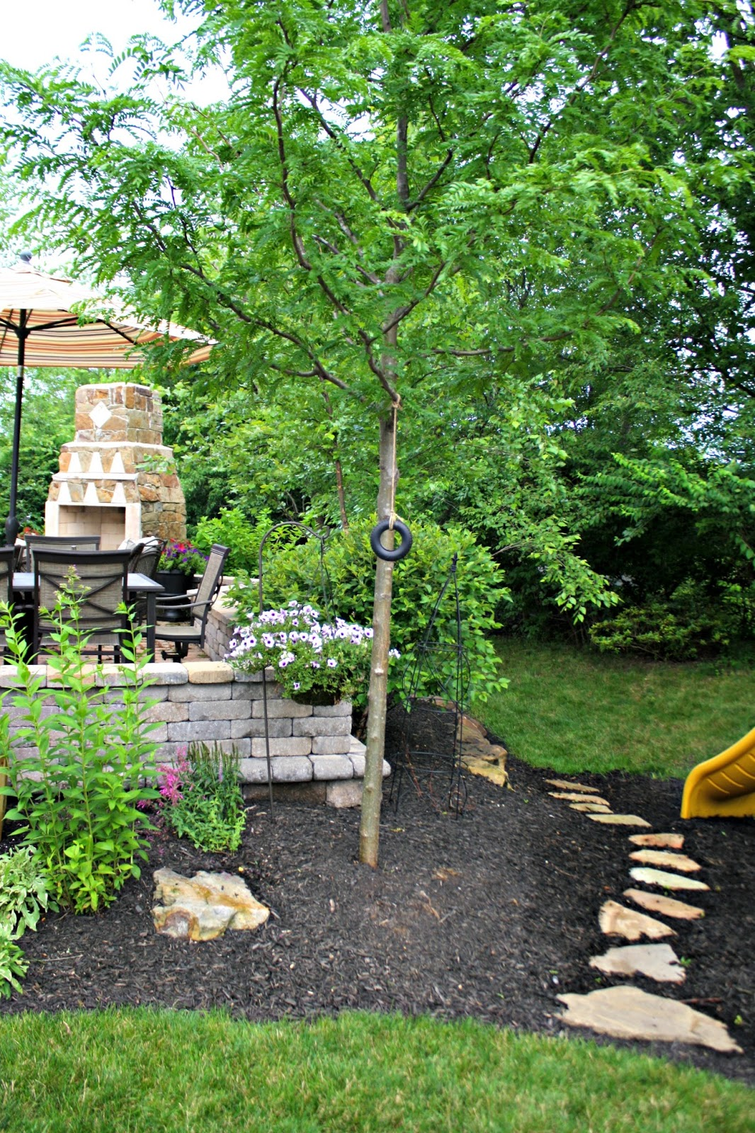 backyard tour 2015 from thrifty decor