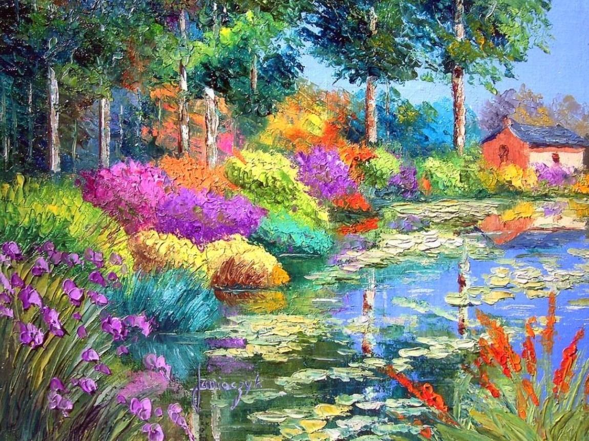 Cuadros Modernos Pinturas : Pinturas al óleo de flores modernas: paisajesybodegonesaloleo.blogspot.com/2013/04/pinturas-al-oleo-de...