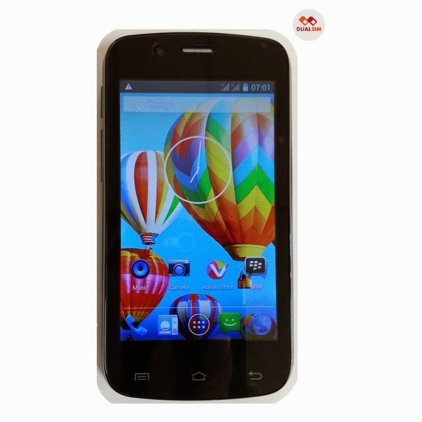 Spesifikasi dan Harga Advan Vandroid S4E | Smartphone super murah 700 ribuan