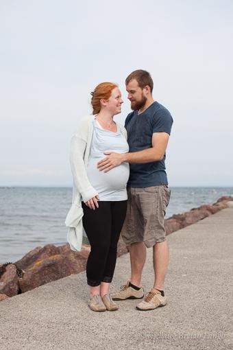 når vor magen mest gravid eldre  po
