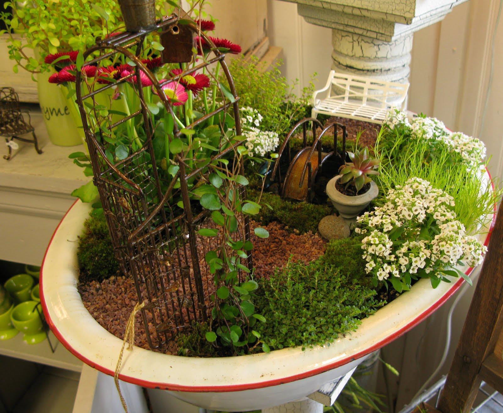 Mini Fairy Garden Ideas