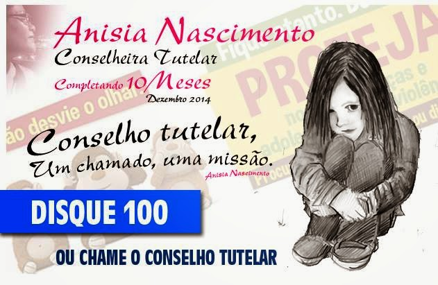 Anisia Nascimento - Conselheira Tutelar/ Curtam esta página no  facebook