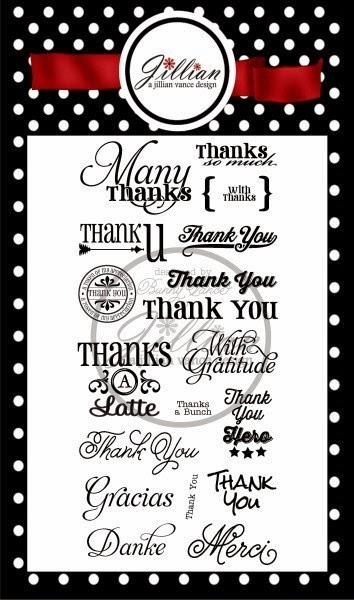 Many Thanks Stamp Set