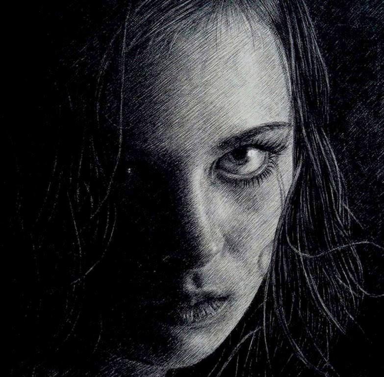 dibujos-de-rostros-de-mujeres-a-lapiz