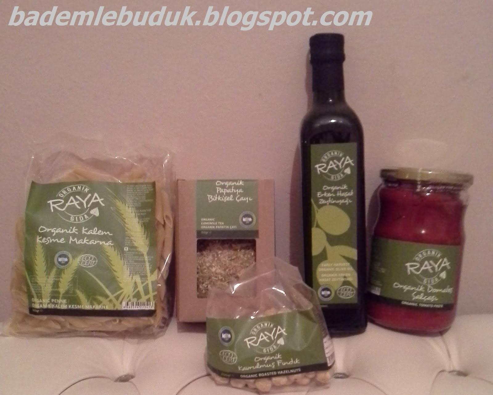 raya organik ürünleri
