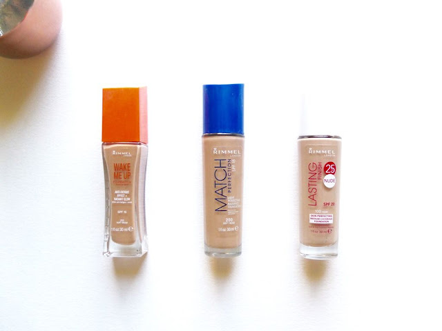 Rimmel, Foundation, Wake Me Up, True Match, Lasting Finish Nude, Review