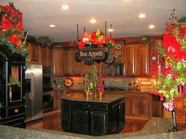 D coration cuisine pour le no l d cor de maison d coration chambre - Decoration pour cuisine ...