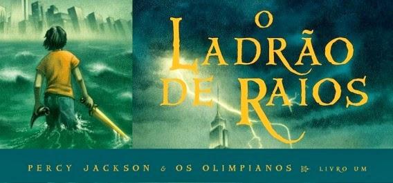 livro, percy jackson, rick riordan, o ladrão de raios, resenha