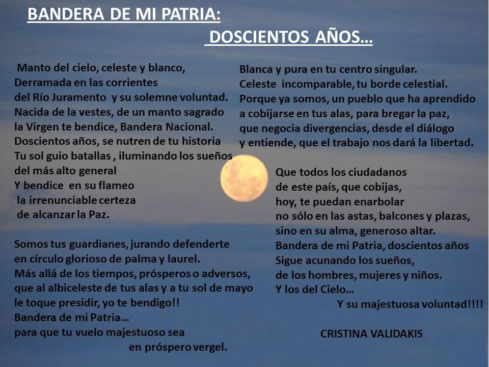 Mi homenaje a la Bandera Argentina, nuestro Símbolo Nacional en el