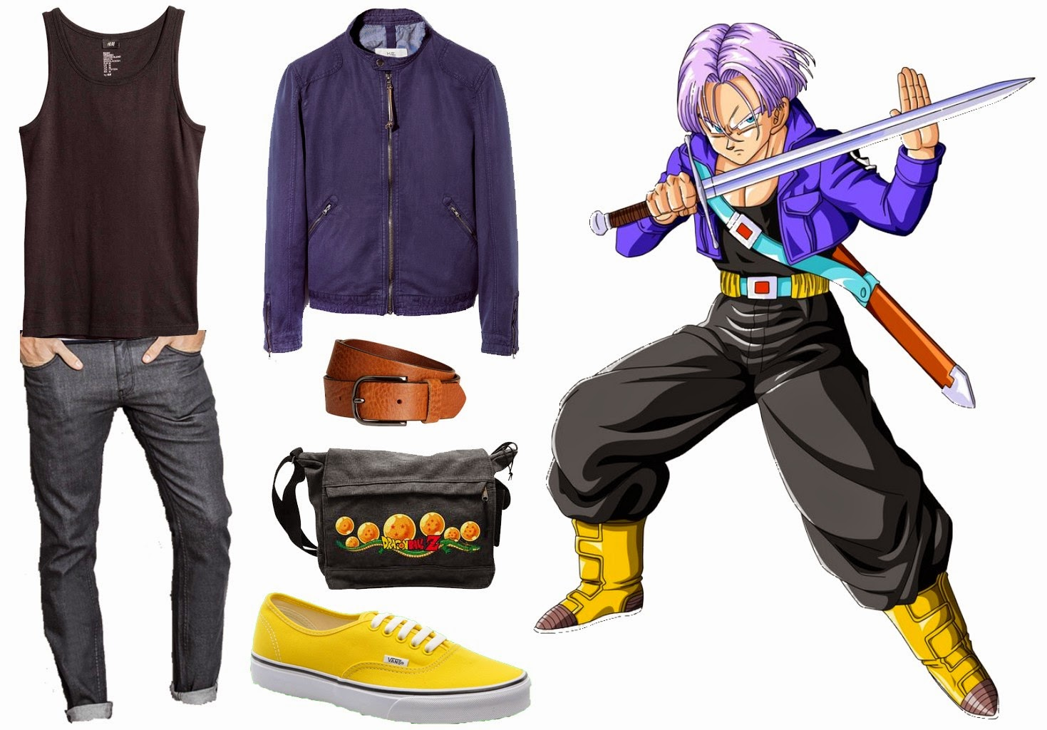 get the look trunks dragon ball z