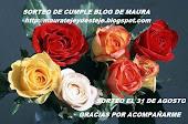MAURA ESTA DE CUMPLE BLOG