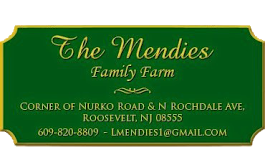 Welcome To Mendies Farm