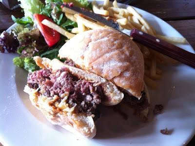 Burger at The Talbot