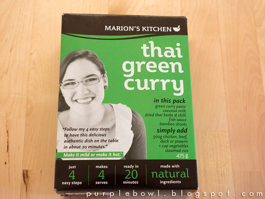 Easy green curry recipe