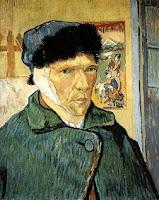 Autorretrato con oreja vendada, Vicent Van Gogh, 1889, óleo sobre lienzo